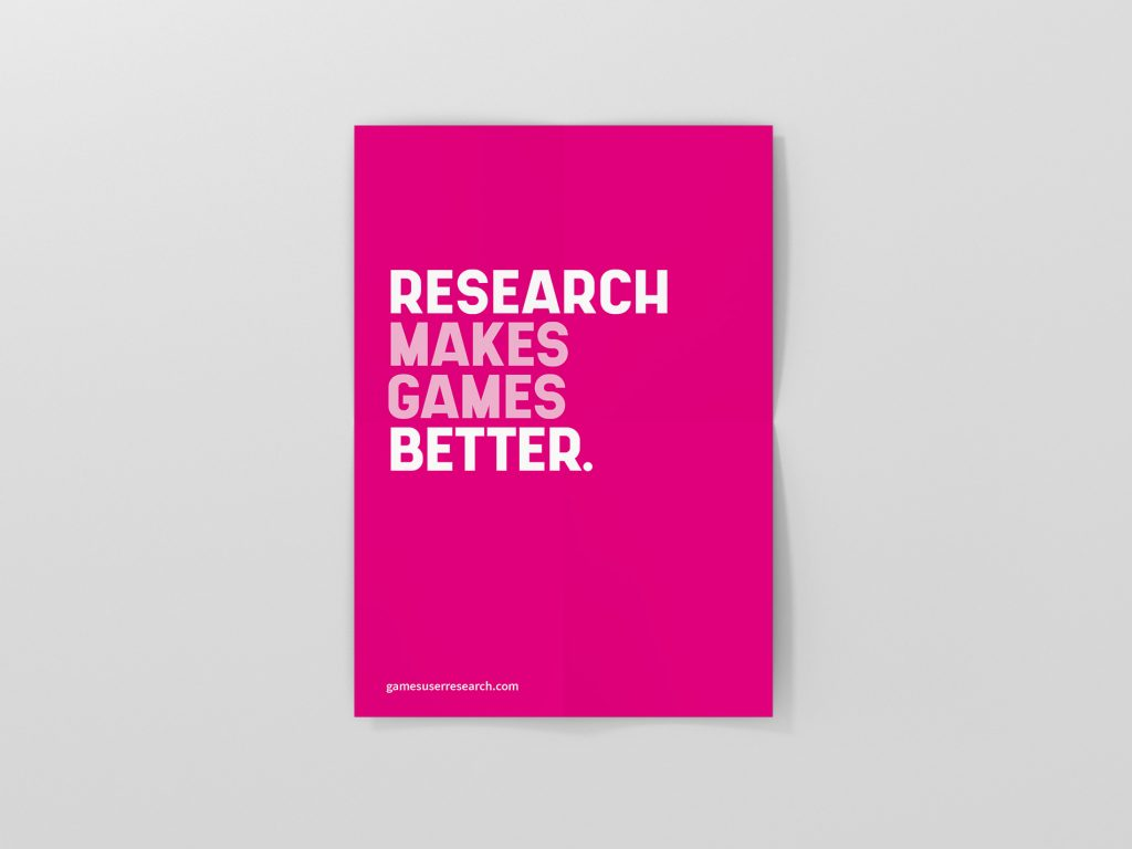 research makes games better poster