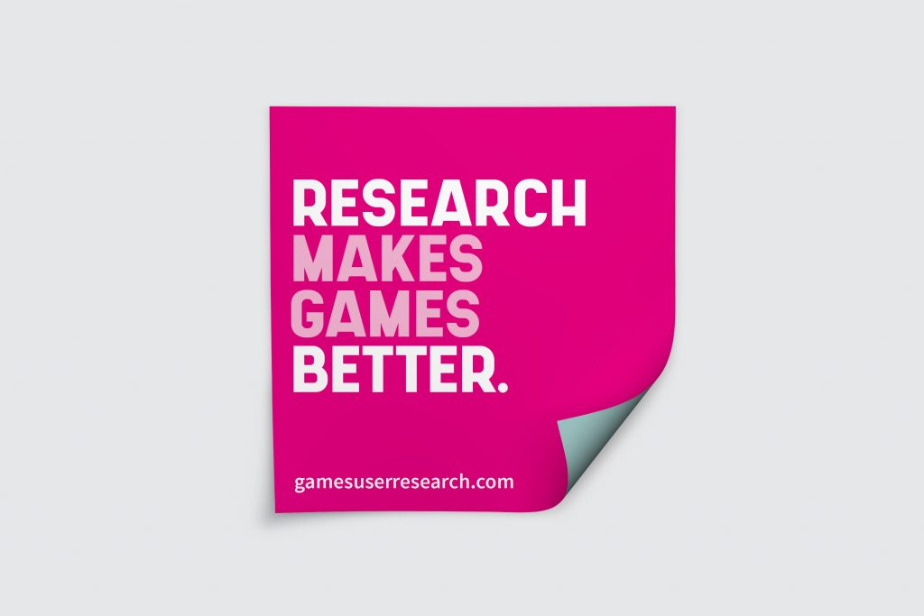 research makes games better sticker