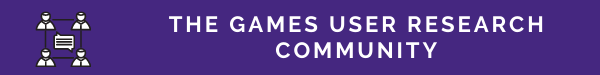 Games User Research Community