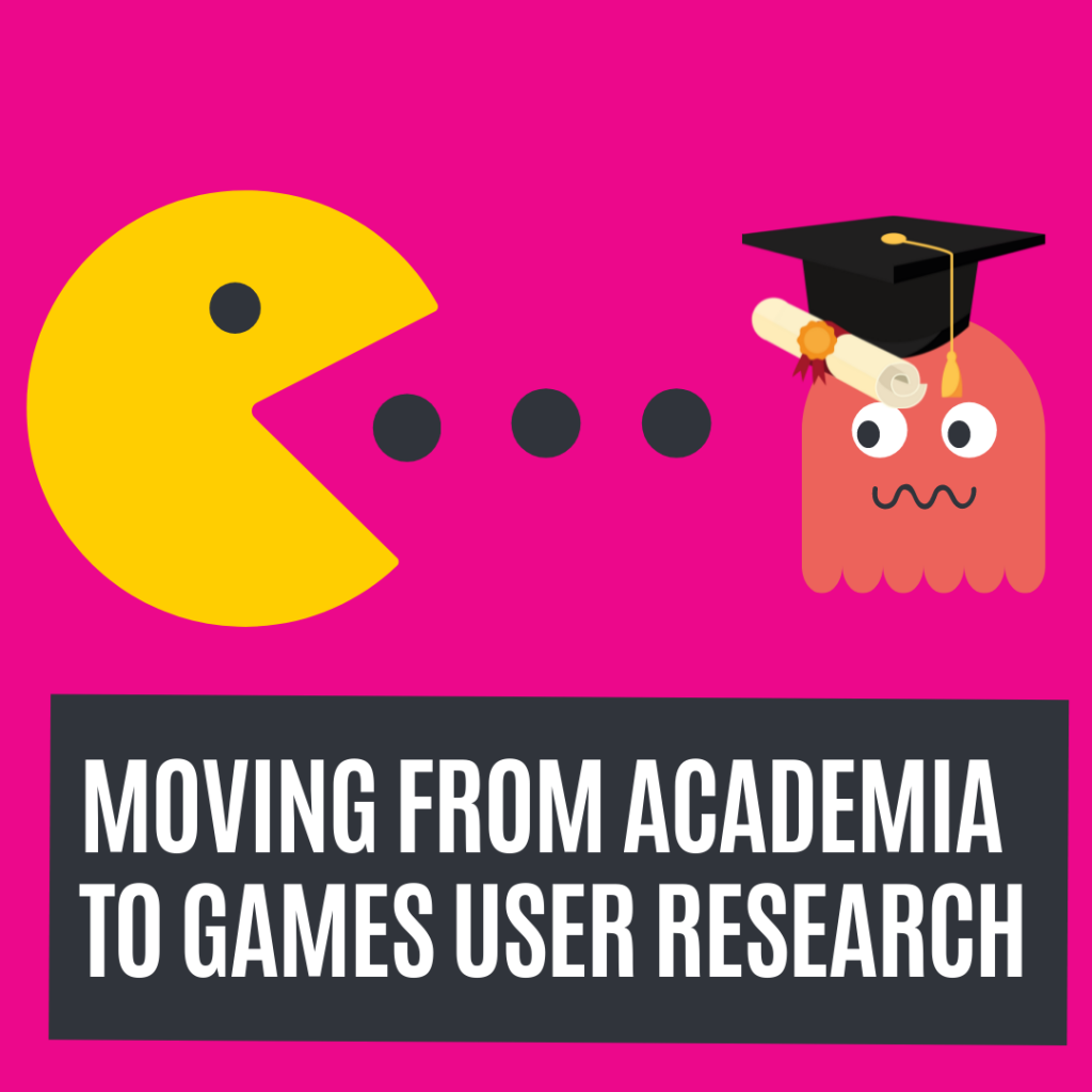 games user research newsletter on academia