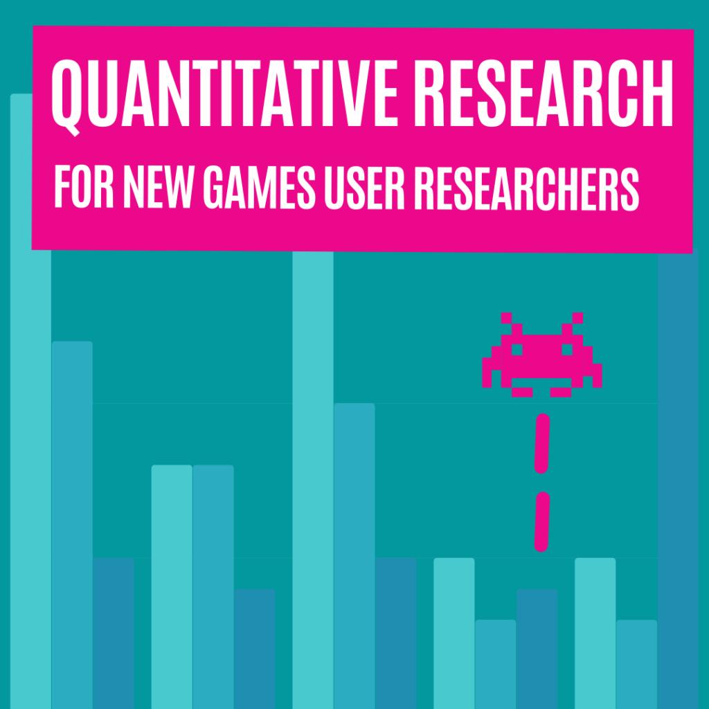 Quantitative Games User Research Newsletter